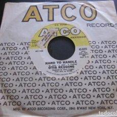 Discos de vinilo: OTIS REDDING - HARD TO HANDLE - SN - EDICION USA DEL AÑO 1968.. Lote 194598341