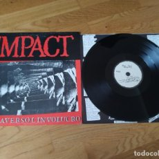 Discos de vinilo: VINILO IMPACT – ATTRAVERSO L'INVOLUCRO. ITALIA 1986.. Lote 194598536