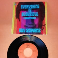 Discos de vinilo: RAY STEVENS. EVERYTHING IS BEAUTIFUL. A BRIGHTER DAY, CBS 1970. Lote 194599533