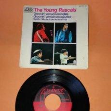 Discos de vinilo: THE YOUNG RASCALS. GROOVIN. VERSION INGLES Y ESPAÑOL. ATLANTIC RECORDS 1967. Lote 194600010