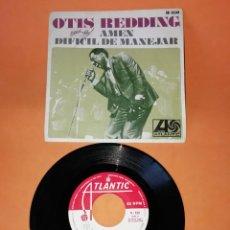 Discos de vinilo: OTIS REDDING. AMEN. DIFICIL DE MANEJAR. 1968 ATLANTIC RECORDS.. Lote 194600872