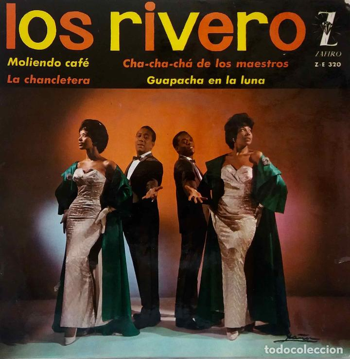 LOS RIVERO. MOLIENDO CAFE. EP ESPAÑA (Música - Discos de Vinilo - EPs - Grupos y Solistas de latinoamérica)