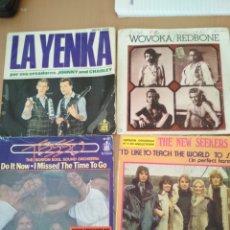 Discos de vinilo: LOTE DE 4 SINGLES AÑOS 70. Lote 194601033