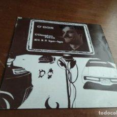 Discos de vinilo: O'GAR - DRUNKEN PETER / 1,2,3, BYE BYE . MAXI SINGLE . 1985 VICTORIA. Lote 194601735