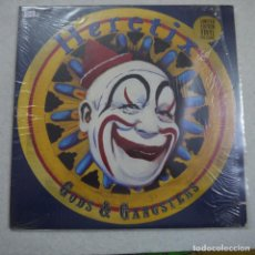 Discos de vinilo: HERETIX - GODS AND GANGSTERS - LP 1990 USA . Lote 194602747