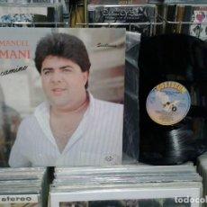 Discos de vinilo: LMV - JOSÉ MANUEL 'EL MANI'. MI CAMINO (SEVILLANAS), COLISEUM 1989, REF. D-0709. Lote 194603250