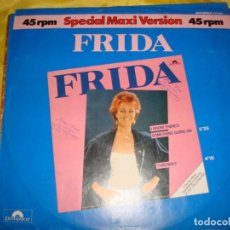 Discos de vinilo: FRIDA. I KNOW THERE´S SOMETHING GOING ON. POLYDOR, 1982. MAXI-SINGLE. EDC. GERMANY. (#). Lote 194603328