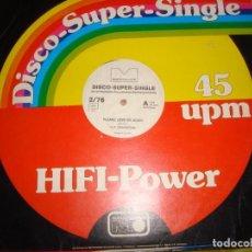 Discos de vinilo: V.I.P. CONNECTION. PLEASE LOVE ME AGAIN / WEST COAST DRIVE. MAXI-SINGLE. GERMANY, 1976. IMPECA. (#). Lote 194603563