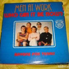 Discos de vinilo: MEN AT WORK. WHO CAN IT BE NOW? / ANYONE FOR TENNIS. MAXI-SINGLE. CBS, 1982. HOLLAND. IMPECA (#). Lote 194604640