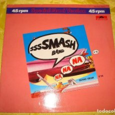 Discos de vinilo: SMASH BAND. NA NA NA / GRAND DRUM. POLYDOR, 1983. GERMANY. MAXI-SINGLE. (#). Lote 194605031