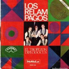 Discos de vinilo: LOS RELAMPAGOS - TROPEZON - DIPLODOCUS- SG SPAIN 1966. Lote 194606367