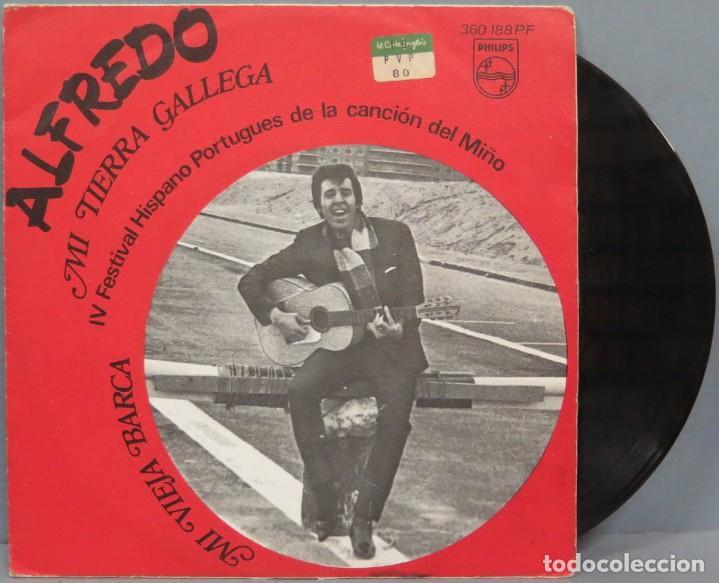 SINGLE. ALFREDO. MI TIERRA GALLEGA (Música - Discos - LP Vinilo - Solistas Españoles de los 50 y 60)