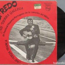 Discos de vinilo: SINGLE. ALFREDO. MI TIERRA GALLEGA. Lote 194606835