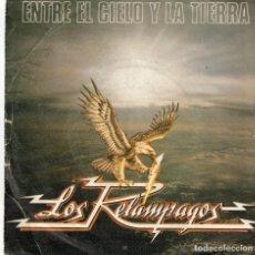 Discos de vinilo: LOS RELAMPAGOS- ENTRE EL CIELO Y LA TIERRA - CHINATOWN - SG SPAIN 1982. Lote 194607290