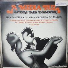Discos de vinilo: BÉLA SANDERS Y SU GRAN ORQUESTA DE TANGOS - TANGOS PARA ENAMORAR - ESPAÑA 1985. Lote 194608482