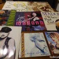 Discos de vinil: LOTE - MADONNA- SEIS MAXI 12* Y DOS SINGLES 7*. Lote 194608575