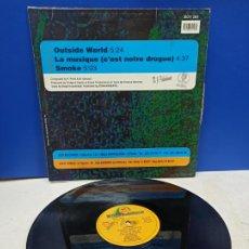 Discos de vinilo: MAXI SINGLE DISCO VINILO SUNBEAM OUTSIDE WORLD E.P. Lote 194608987