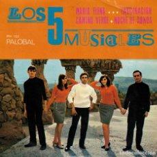 Discos de vinilo: LOS 5 MUSICALES - MARIA ELENA - CAMINO VERDE + 2 - EP SPAIN 1968. Lote 194609377