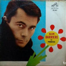 Discos de vinilo: ALAIN BARRIERE -ES PRIMAVERA- LP RCA VICTOR ARGENTINA. Lote 194609393