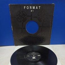 Discos de vinilo: MAXI SINGLE DISCO VINILO FORMAT 1. Lote 194609493