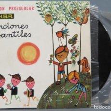 Discos de vinilo: SINGLES. CANCIONES INFANTILES. PREESCOLAR. Lote 194609711
