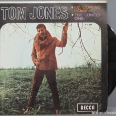 Discos de vinilo: SINGLE. TOM JONES. I'M COMING HOME. Lote 194609996