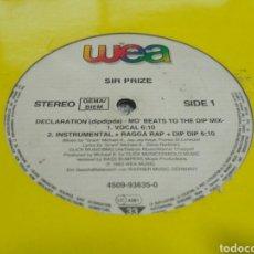 Discos de vinilo: SIR PRIZE - DECLARATION (DIPDIPDA). Lote 194610253