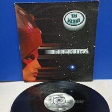 Discos de vinilo: MAXI SINGLE DISCO VINILO DJ KLEM ELEKTRA. Lote 194610426