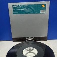Discos de vinilo: MAXI SINGLE DISCO VINILO JACCOT MU V EXPRESS. Lote 194610635