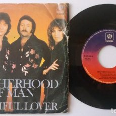 Discos de vinilo: BROTHERHOOD OF MAN / BEAUTIFUL LOVER / SINGLE 7 INCH. Lote 194611038