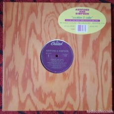 Discos de vinilo: ASHFORD & SIMPSON COOKIES AND CAKE MAXI SINGLE VINILO USA 1989. Lote 194611331