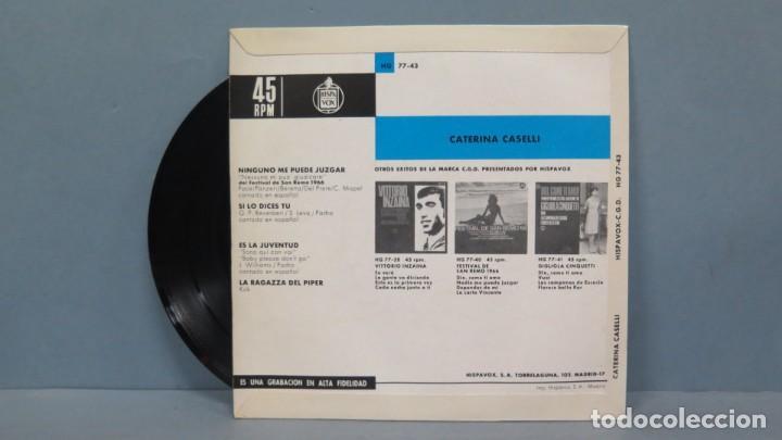 Discos de vinilo: EP. CATERINA CASELLI. CANTA EN ESPAÑOL - Foto 2 - 194611496