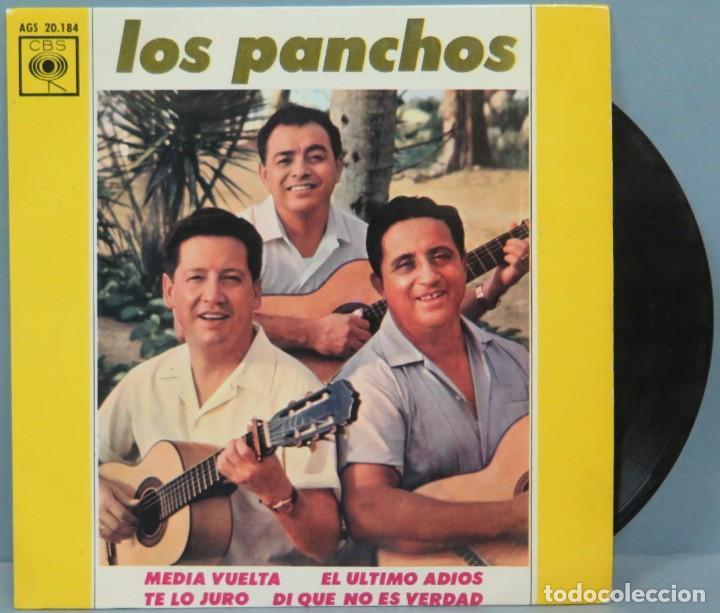 EP. LOS PANCHOS. MEDIA VUELTA (Música - Discos de Vinilo - EPs - Grupos y Solistas de latinoamérica)
