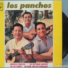Discos de vinilo: EP. LOS PANCHOS. MEDIA VUELTA. Lote 194611587