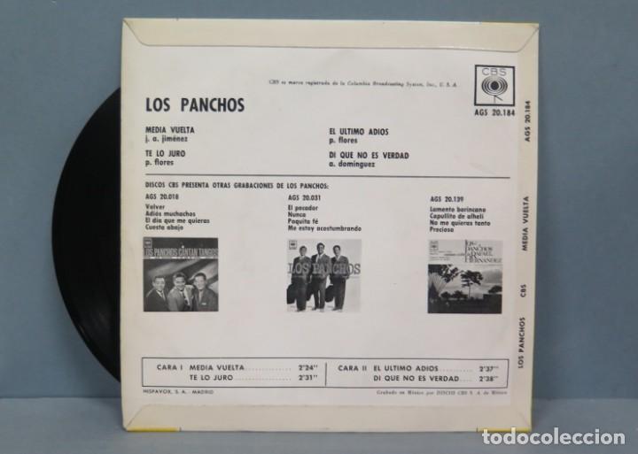 Discos de vinilo: EP. LOS PANCHOS. MEDIA VUELTA - Foto 2 - 194611587