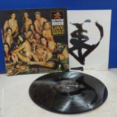 Discos de vinilo: LP DISCO VINILO DIE TOTEN HOSEN LOVE PEACE AND MONEY. Lote 194611848