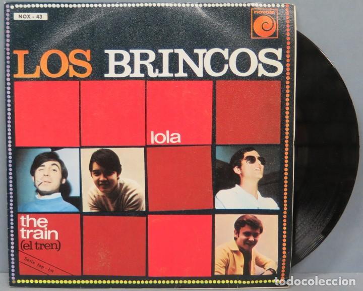 SINGLE. LOS BRINCOS. LOLA (Música - Discos - Singles Vinilo - Grupos Españoles 50 y 60)
