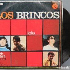 Discos de vinilo: SINGLE. LOS BRINCOS. LOLA. Lote 194611876