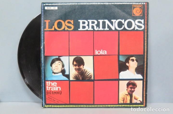 Discos de vinilo: SINGLE. LOS BRINCOS. LOLA - Foto 2 - 194611876