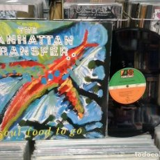 Discos de vinilo: LMV - THE MANHATTAN TRANSFER. SOUL FOOD TO GO. ATLANTIC ‎1988, REF. 786598-0 -- MAXI-SINGLE. Lote 194613717