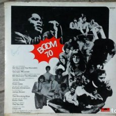Discos de vinilo: ¡¡¡BOOM 70!!! -THE TEE SET, CLASE 49, JAMES BROWN...-LP POLYDOR ARGENTINA. Lote 194614448