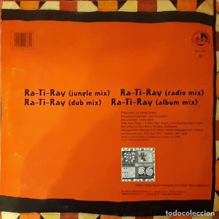 Discos de vinilo: EDDY GRANT - RA-TI-RAY (4 VERSIONES) - Foto 2 - 194614797