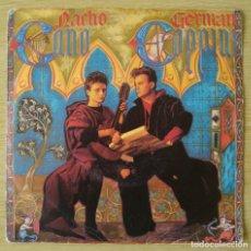 Discos de vinilo: NACHO CANO Y GERMAN COPPINI : DAME UN CHUPITO DE AMOR +1 - SINGLE 1986 ARIOLA - MECANO GOLPES BAJOS. Lote 194615158