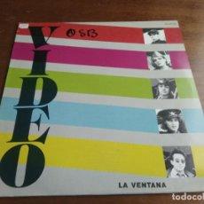 Discos de vinilo: VIDEO -LA VENTANA MAXI-1984. Lote 194615171