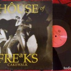 Discos de vinilo: FOLK ROCK HOUSE OF FREAKS **CAKEWALK** VINILO ORIGINAL 1991 ALEMANIA LP. Lote 194616195