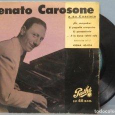 Discos de vinilo: EP. ENATO CAROSONE. EH COMPADRE + 3. Lote 194616551