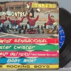 Discos de vinilo: EP. THE ROCKING BOYS. TWIST SENSACIONAL. Lote 194617206