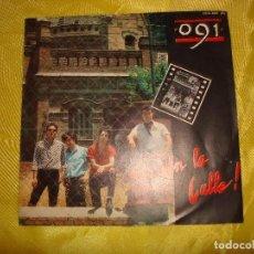 Discos de vinilo: 091. ¡ EN LA CALLE ¡ / BLUES DE MEDIANOCHE. ZAFIRO, 1986. PROMOCIONAL. IMPECABLE (#). Lote 194617346