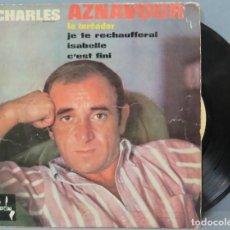 Discos de vinilo: EP. CHARLES AZNAVOUR. LE TOREADOR. Lote 194617582