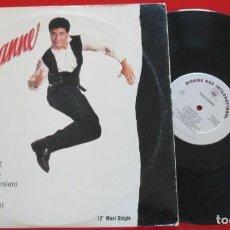 Discos de vinilo: CHAYANNE SIMON SEZ VINILO MAXI SINGLE USA 1990 MUY RARO CON 3 REMIXES. Lote 194617692